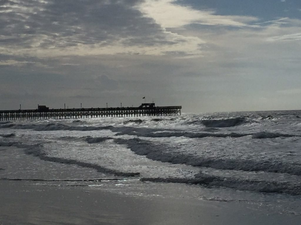 Image of a beach taken by Janie J while on vacation at Kure Beach in North Carolina.