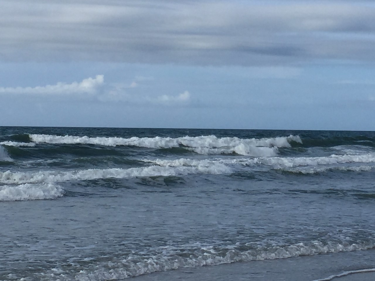 Image of a beach taken by Janie J while on vacation.